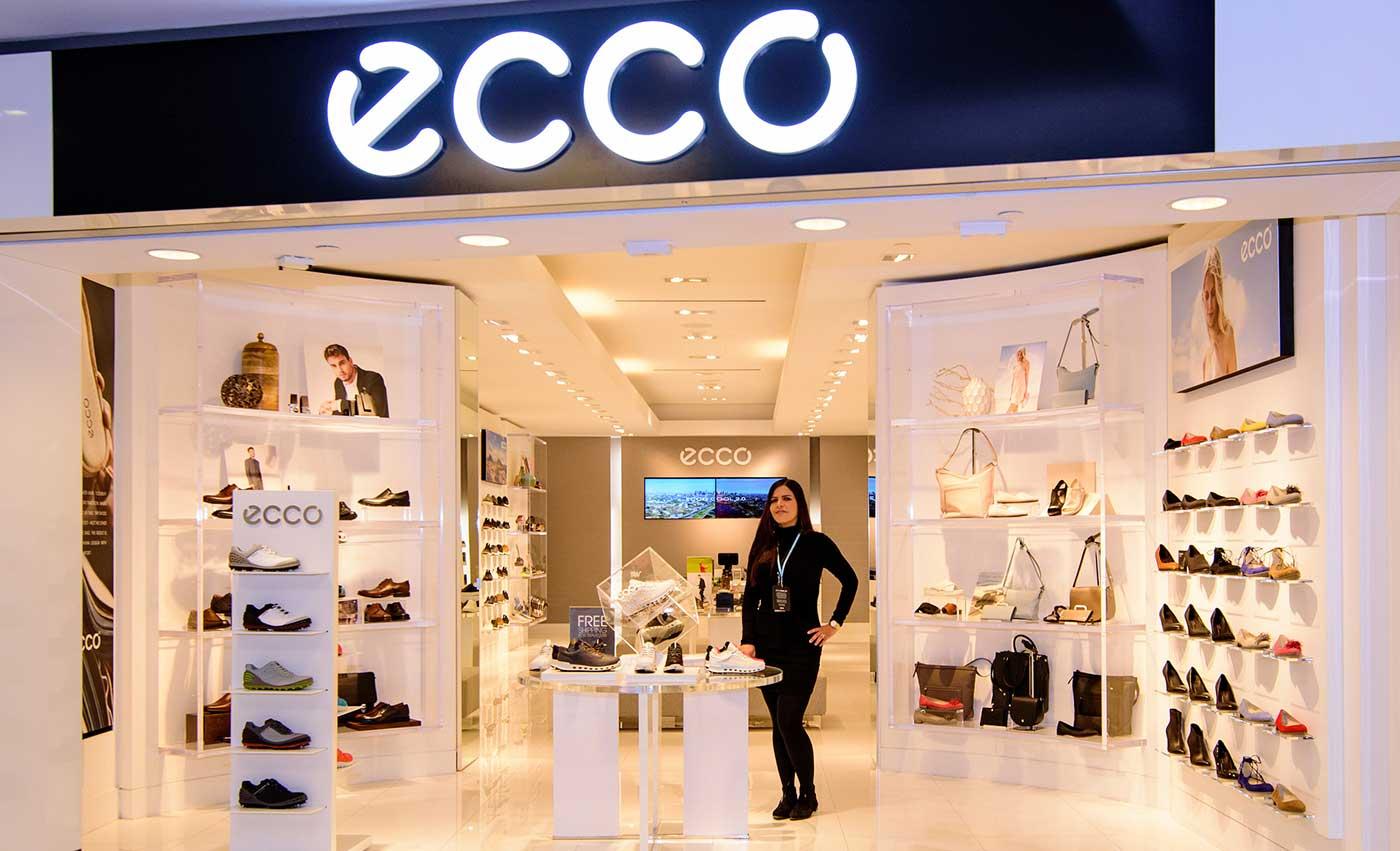 Бонусная карта магазина ECCO